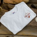 Eagle Island Embroidered T-Shirt